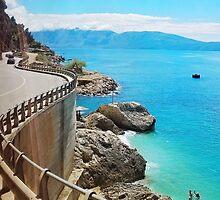 Albanian Riviera by dardanvukaj
