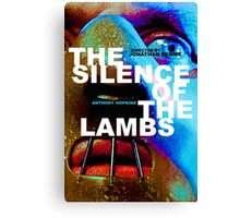 THE SILENCE OF THE LAMBS 10 Canvas Print