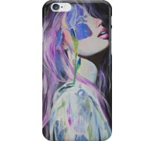 A Blue Iris  iPhone Case/Skin
