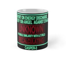 Neon Genesis Evangelion Warning Mug