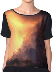 Storm of all Storm Clouds Chiffon Top