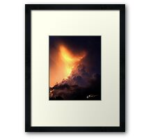 Storm of all Storm Clouds Framed Print