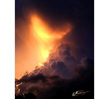 Storm of all Storm Clouds Photographic Print