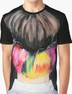 Because She Loved Color Graphic T-Shirt