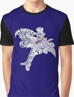 Kaito Kid Word Art Graphic T-Shirt