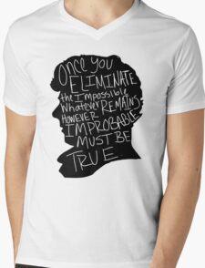 Impossible Mens V-Neck T-Shirt