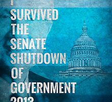 Senate Shutdown of Government by morningdance