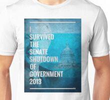 Senate Shutdown of Government Unisex T-Shirt