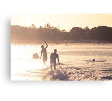 Sunset Sliders - Noosa Canvas Print