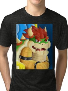 Tyrant King of Koopas Tri-blend T-Shirt