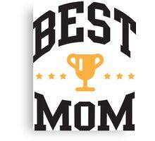 Best mom Canvas Print