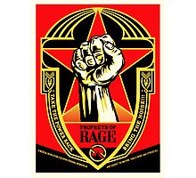 PROPHETS OF RAGE - top seller poster design Tour 2016 Photographic Print