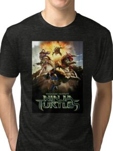 Tenage Mutant Ninja Turtles Movie 2016 Tri-blend T-Shirt