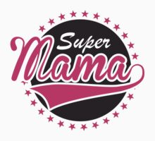 Super Mama One Piece - Short Sleeve