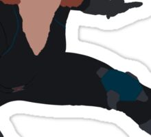 I  am a Black Widow Sticker