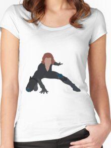 I  am a Black Widow Women's Fitted Scoop T-Shirt