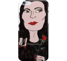 Babe Morticia  iPhone Case/Skin