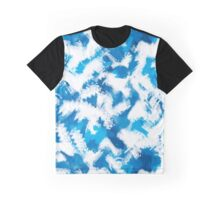 Abstraction. Drawing watercolor. The digital pattern. Graphic T-Shirt