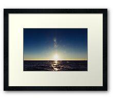 vctn 01 Framed Print