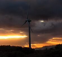 Elemental Power II - Wind Turbine by Michelle Wrighton