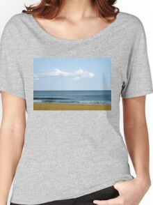 Fish Cloud Over the Ocean  Women's Relaxed Fit T-Shirt