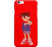 Detective Conan word art iPhone Case/Skin