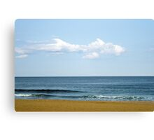 Fish Cloud Over the Ocean  Canvas Print