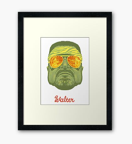 the big lebowski Framed Print