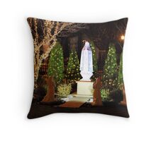 The apparition - Christmas 2013 Throw Pillow