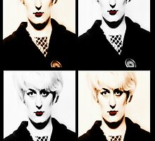 Myra Hindley, Moors Murderer, Grid by Lisa Briggs