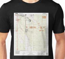 USGS TOPO Map Arizona AZ Tucson SW 313846 1996 24000 Unisex T-Shirt