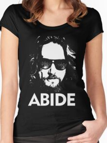 the big lebowski Women's Fitted Scoop T-Shirt