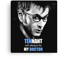 doctor how Canvas Print