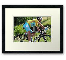 Vincenzo Nibali - Tour de France 2014 Framed Print