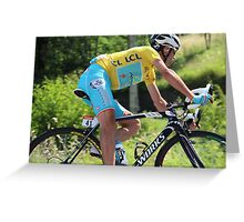 Vincenzo Nibali - Tour de France 2014 Greeting Card