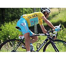 Vincenzo Nibali - Tour de France 2014 Photographic Print