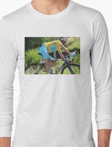 Vincenzo Nibali - Tour de France 2014 Long Sleeve T-Shirt