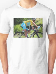 Vincenzo Nibali - Tour de France 2014 Unisex T-Shirt