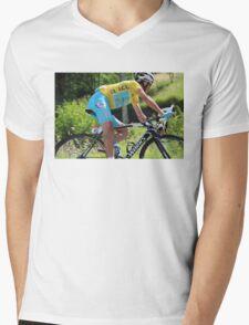 Vincenzo Nibali - Tour de France 2014 Mens V-Neck T-Shirt