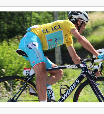 Vincenzo Nibali - Tour de France 2014 Sticker