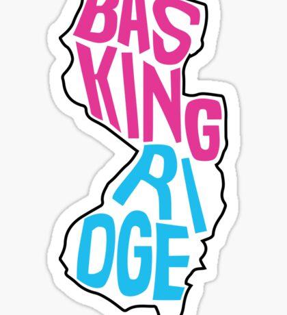 Basking Ridge inside New Jersey Sticker