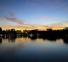 Ibirapuera Park - Sunset by gallfreitas