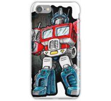 Optimus Prime Chibi - No background iPhone Case/Skin