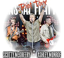 RASCAL FLATTS - rhythm & roots riot tour 2016 Exclusive  Photographic Print