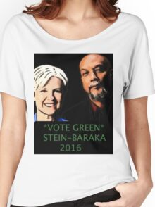 STEIN-BARAKA VOTE GREEN 2016 Women's Relaxed Fit T-Shirt