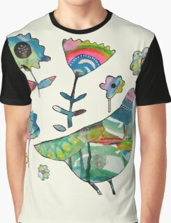 dove in my garden Graphic T-Shirt