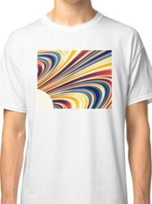 Color and Form Abstract - Solar Gravity and Magnetism 5 Classic T-Shirt