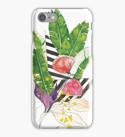 Tropical Shapes iPhone Case/Skin