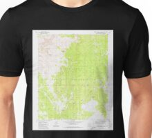 USGS TOPO Map Arizona AZ Robbers Roost Canyon 313106 1980 24000 Unisex T-Shirt