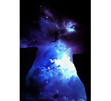 jump in galaxy Photographic Print